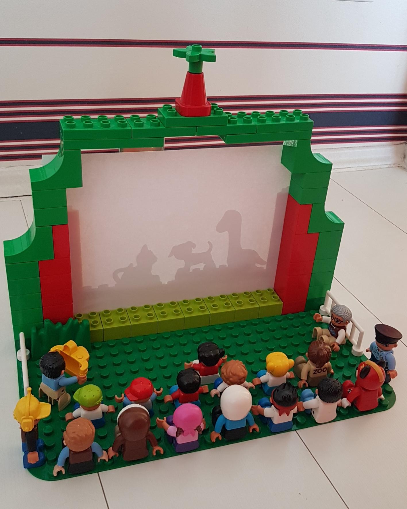 Duplóból árnyékszínház