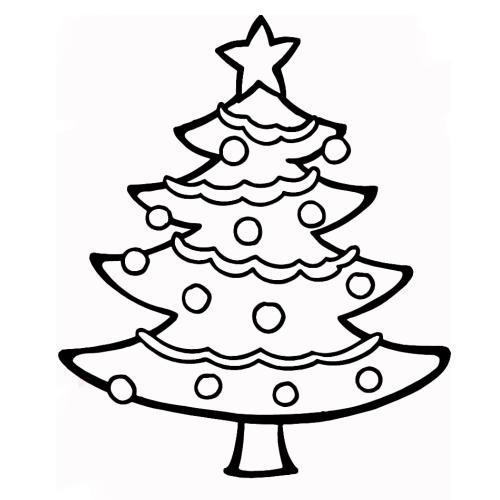 Színezd ki a karácsonyfát