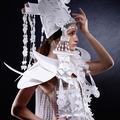 Kosztüm design papírból