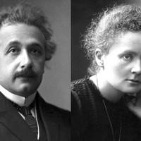 Einstein így vigasztalta Marie Curie-t