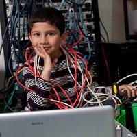 A legfiatalabb számítógépes szakember