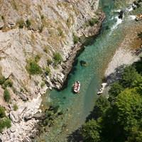 Rafting a Tara folyón