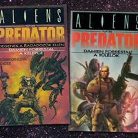 KÖNYV: Alien vs. Predator: A kelepce & A túlélők (Damien Forrestal)