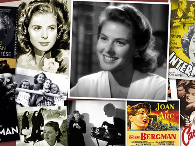 ÉLETRAJZ: Ingrid Bergman
