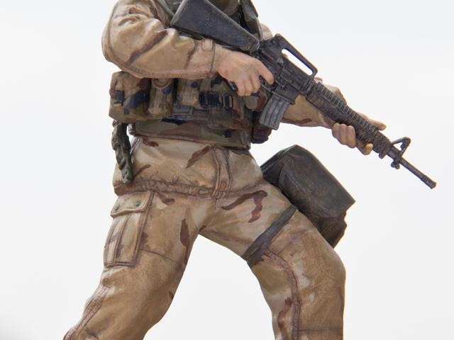 MAKETT: Amerikai tengerészgyalogos 2003-ból