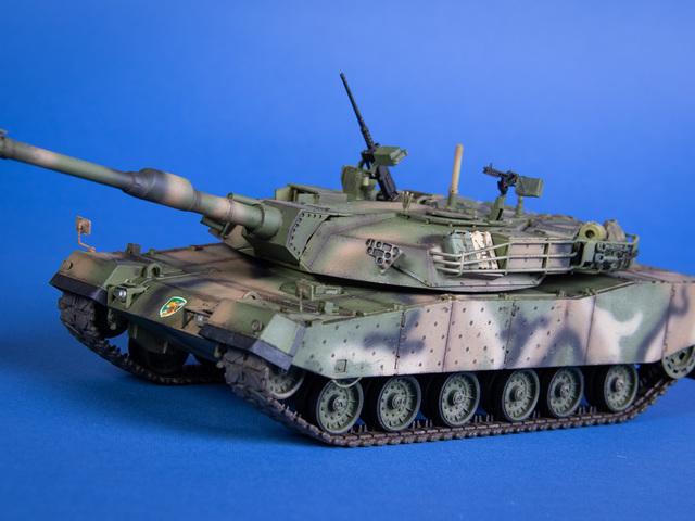 MAKETT: K-1A1 harckocsi