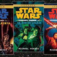 KÖNYV: Star Wars: Coruscanti éjszakák I-III. (Michael Reaves)