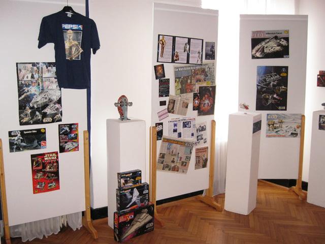 KIÁLLÍTÁS: Csillagok háborúja-kiállítás Rákoscsabán