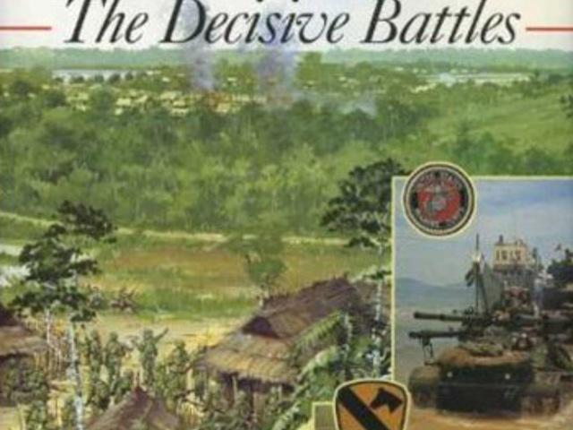 KÖNYV: Vietnam – The Decisive Battles (John Pimlott)