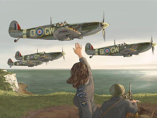 KÉPREGÉNY: Romain Hugault repülős képregényei