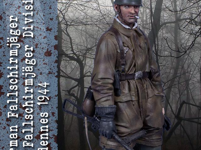 MAKETT: Német ejtőernyős az Ardennekben