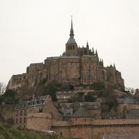 FOTÓ: Mont-Saint-Michel és St. Malo, 2008 januárja