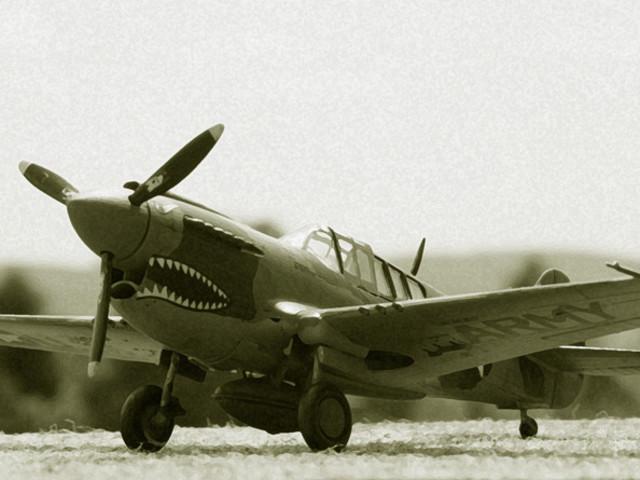 MAKETT: P-40E Warhawk