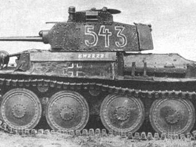MAKETT: Panzerkampfwagen 38(t)