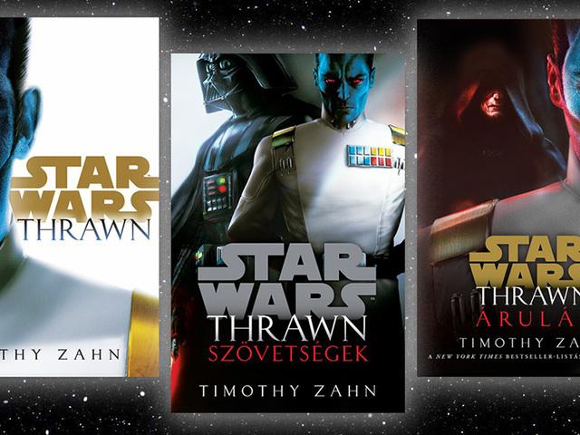 KÖNYV: Star Wars: Új Thrawn-trilógia (Timothy Zahn)