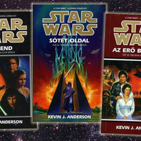 KÖNYV: Star Wars: Jedi-akadémia-trilógia (K.J. Anderson)