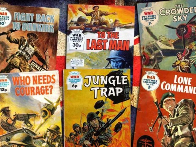 KÉPREGÉNY: War Picture Library & Commando