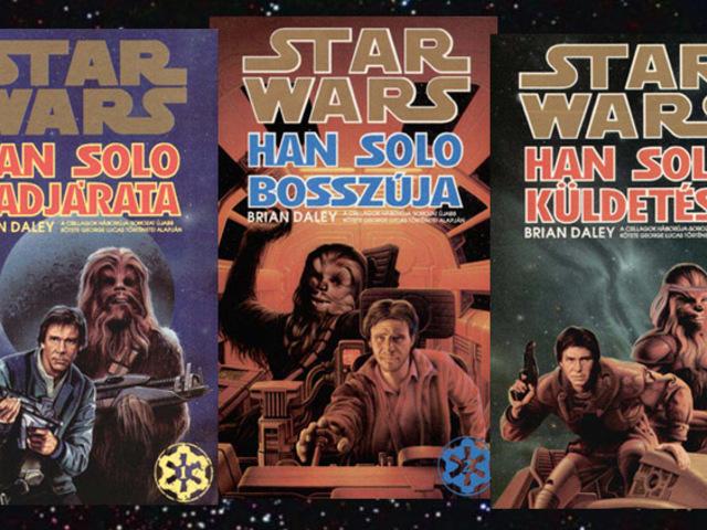 KÖNYV: Star Wars: Han Solo-regények (Daley, Avery, Fisher, Crispin)
