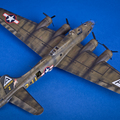 """MAKETT: B-17F """"Repülő erőd"""""""
