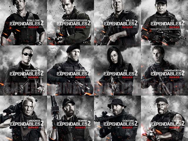 FILM: The Expendables — A feláldozhatók 2.