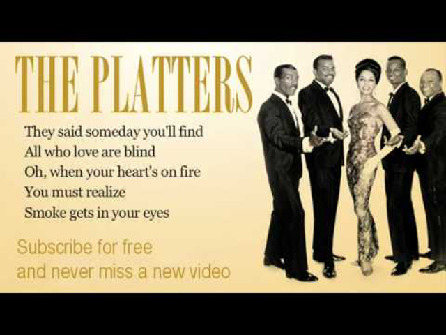 ZENE: Smoke Gets In Your Eyes (The Platters)