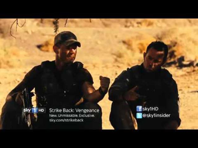 SOROZAT: Strike Back - Válaszcsapás (3. évad)