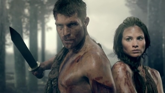 spartacus war of the damned crixus and naevia first meet