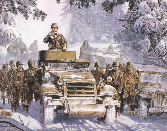 patton at the bulge by james dietz.jpg