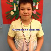 Gratulálunk Dominik!