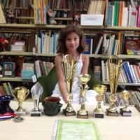 Gratulálunk Flórának a teniszsikereihez!