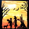 Halloween képekben / a gyerekek alkotásai