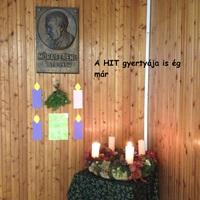 II. adventi gyertyagyújtás