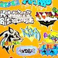 Felsősök munkája / folyosó dekoráció - legális graffiti :)