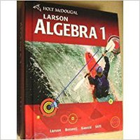 Holt McDougal Larson Algebra 1: Student Edition 2011 Ebook Rar