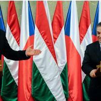 Cseh kiállás Orbán mellett