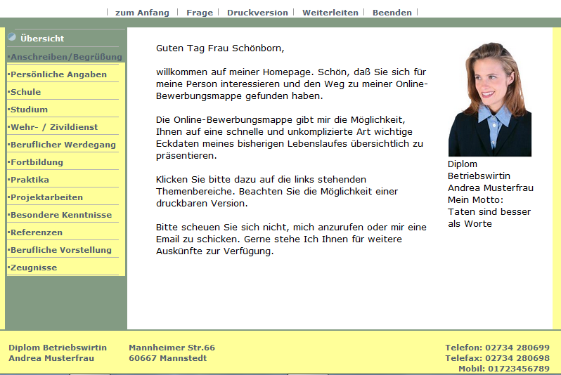 osztrák önéletrajz minta 2012 Online pályázati