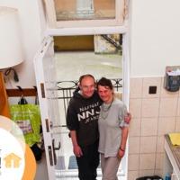 Az első lakók: Andrea és József