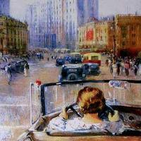 Pimenov: Az új Moszkva (1937)