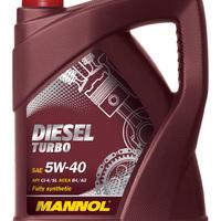 Mannol motorolaj 5W40 5L Diesel Turbo