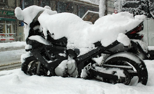 Otto Brothers Honda Snow Covered Bike.png