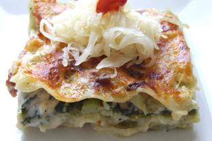 Kelkáposztás lasagne