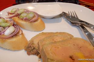 Zsírban sült hízott libamáj