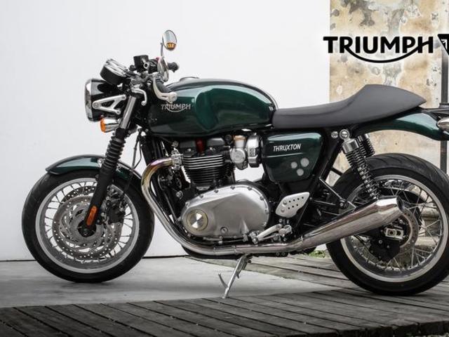 A stílus maga. Triumph Thruxton 1200 Cafe Racer 2020 teszt.
