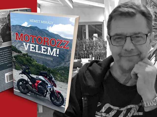 Motorozzvelem, könyv formában is.