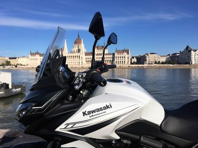 Kawasaki Versys 650, 2020 teszt.