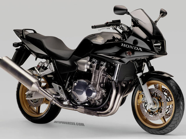 Elment a Legenda. Honda CB 1300 S.