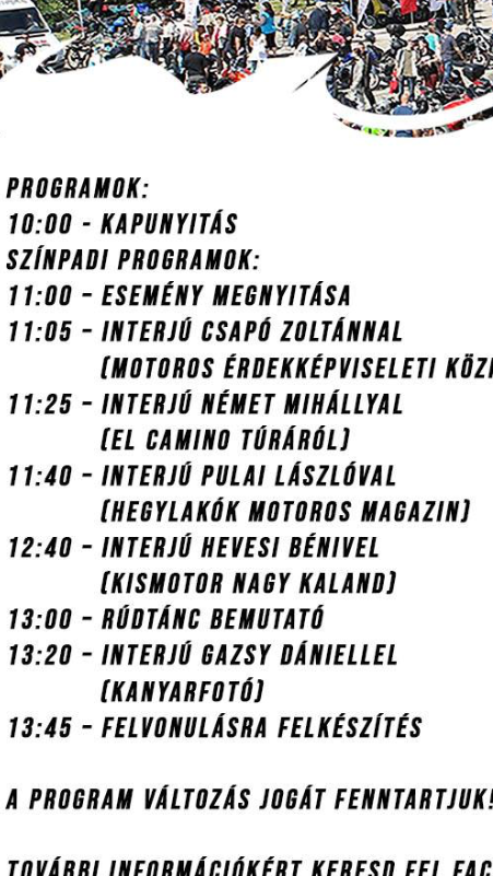 1d9a1d01e1 Május 4-re meghívtak Pécsre a Dél-Dunántúli Motoros Egyesület évadnyitó  rendezvényére (még színpadi beszélgetésre is!), de a rossz időjárás miatt  elmaradt.
