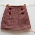 Sailboat szoknya gyapjúból - Wool Sailboat Skirt