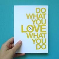 Azzal foglalkozz, amit szeretsz...