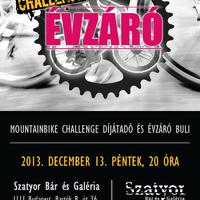 Mountainbike Challenge díjátadó és évzáró buli